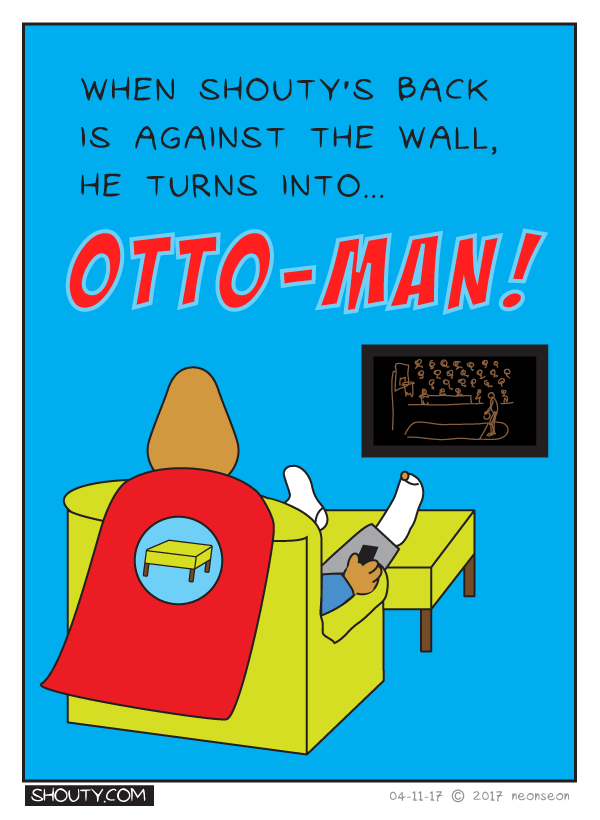The Adventures of Otto-Man!