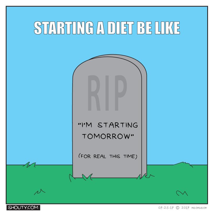 I'm starting tomorrow