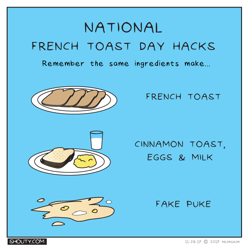 National French Toast Day Hacks