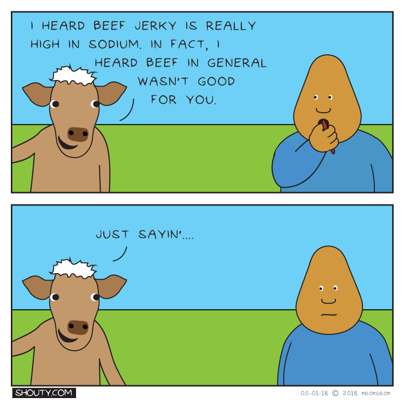 Eating Beef