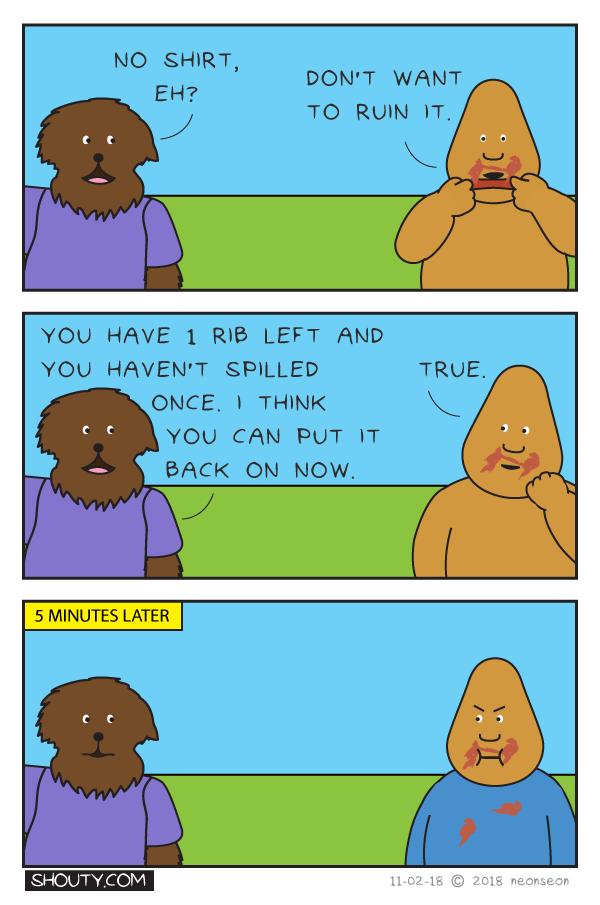 Ribs Comic by Shouty