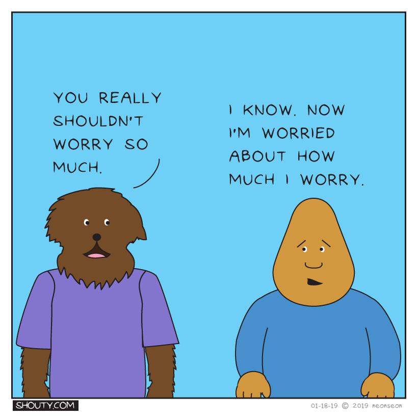 Worry (Part II) Comic by Shouty